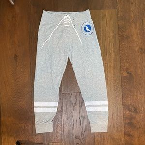 Dodgers x Justice Girl's joggers